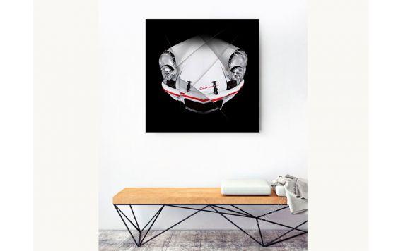 Porsche 911 2.7 Rs Photographie d'art signée