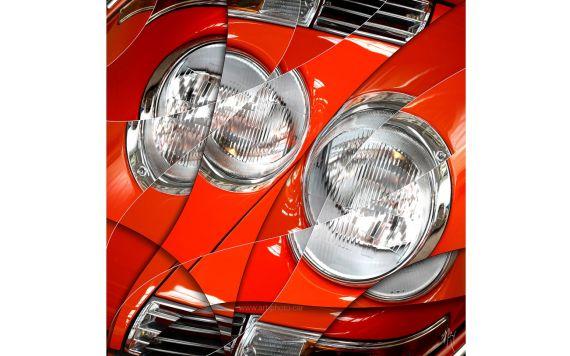 Porsche 911 Targa - Photographie signée & limitée
