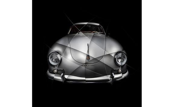 Porsche 356 A Carrera Photographie d'art numérotée