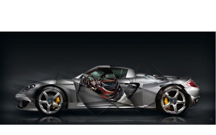 Porsche Carrera GT Photographie d'Art