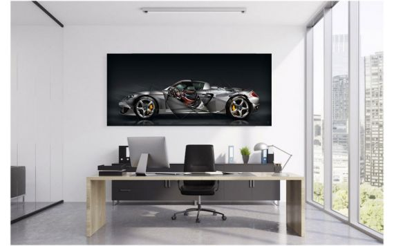 Porsche Carrera GT Fine Art Print