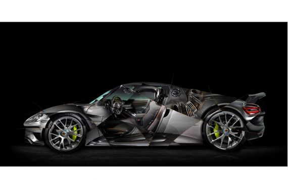 Porsche 918 gte Photo - Signed & Limited Art Photography
