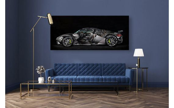 Porsche 918 Photo - Photographie d'Art signée & limitée