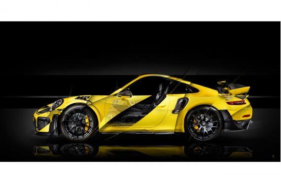 Porsche 911 GT2 RS type 991 Art Photography