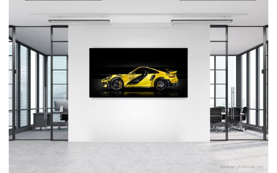 Porsche 911 GT2 RS type 991 Photo d'art