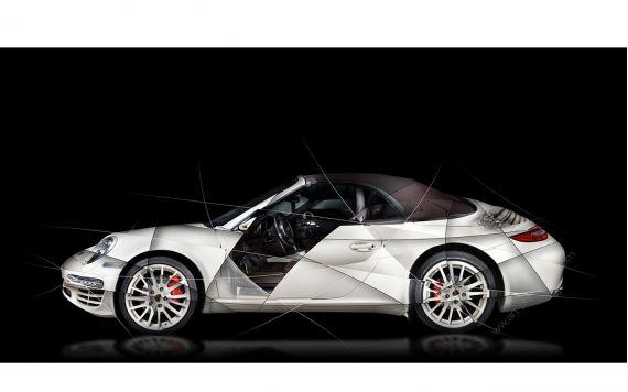 Porsche 997 911 Fine Art Print signed limited