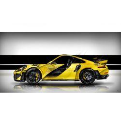 Photographie d'Art Porsche 911 GT2 RS type 991 White Edition