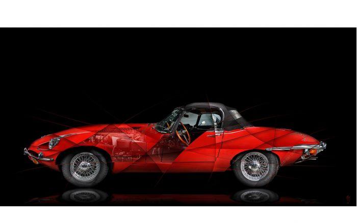 Art Photo Jaguar Type E II