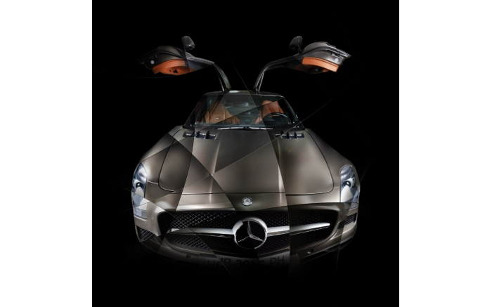 Photographie d'art Mercedes SLS I