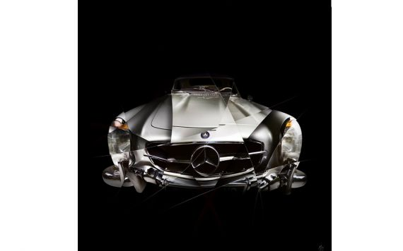 photographie d'art Mercedes 300SL I