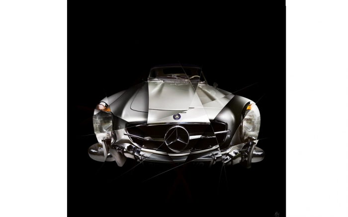 photographie d'art Mercedes 300SL I