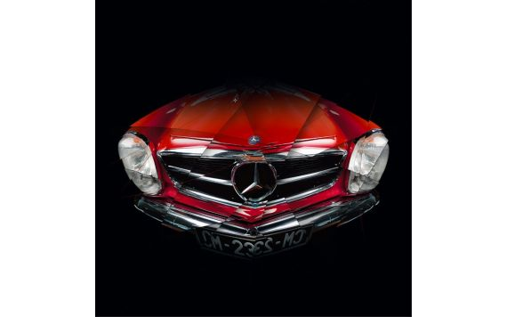 Mercedes Pagode - Signed & Limited Photography