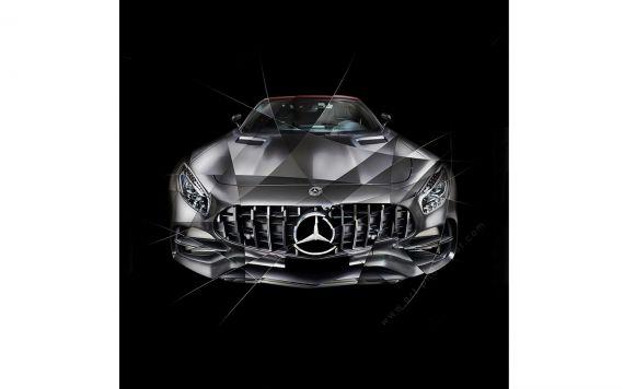 Photographie d'art Mercedes AMG GT Edition 50 I