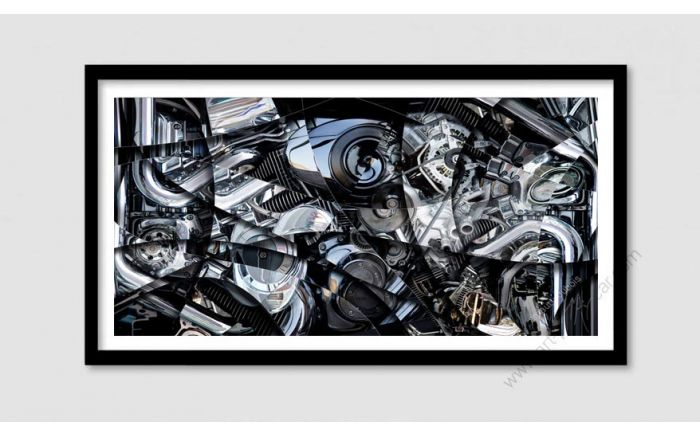 Engine, motor art photo - Signed & Limited Fine Art Print