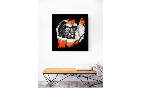 Photographie d'art Montre & Horlogerie Richard Mille RM 27-02 Rafael Nadal signée et limitée