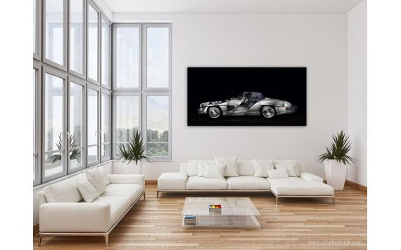 Mercedes 300 SL roadster Photo - Signed & Limited Photography