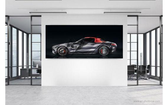 Photographie d'art Mercedes AMG GT Edition 50 II