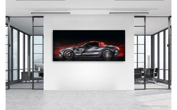 Photographie d'art Mercedes AMG GT RED Edition 50 II
