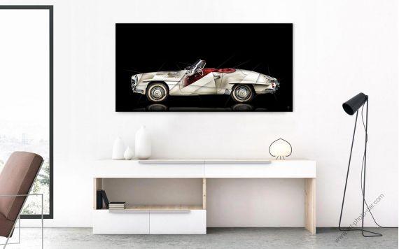 Photo d'art Mercedes 190 SL II