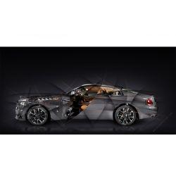 Rolls Royce Wraith Luminary edition Limited Artwork