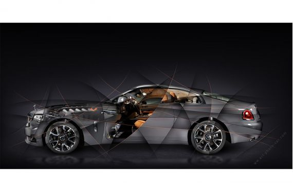 Rolls Royce Wraith Luminary Limited Artwork