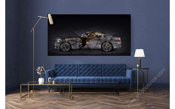 Rolls Royce Wraith Luminary Limited Artwork