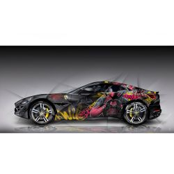 Tableau Ferrari Portofino Pop Art