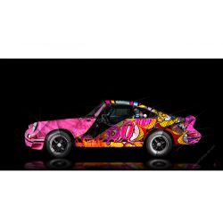 Art Photograpy Porsche 911 2.7 RS Pop Art