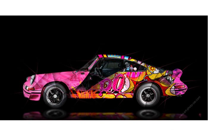 Art Photograpy Porsche 911 2.7 RS Pop Art - Signed & limited edition