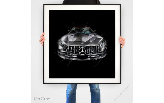 Fine Art Print Mercedes AMG GT Edition 50