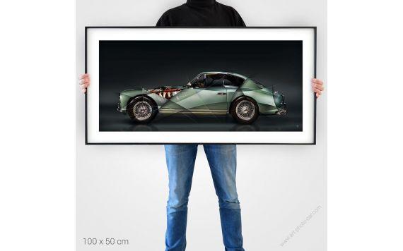 Tirage d'art Aston Martin DB2 signée et limitée