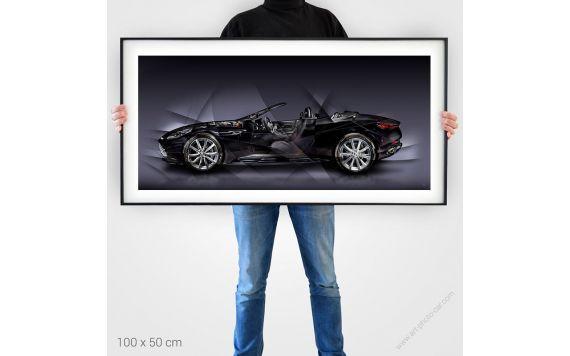 Aston Martin DB11 Volante Fine Art Print