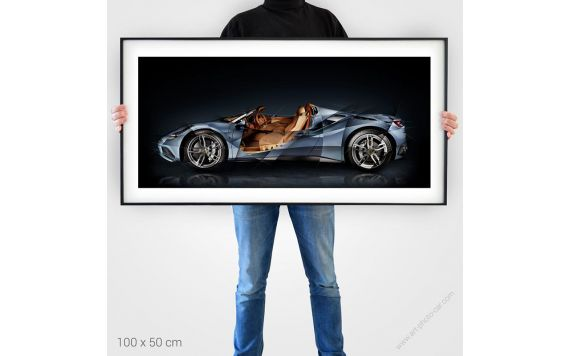 Ferrari 488 Tailor Made Photographie d'Art