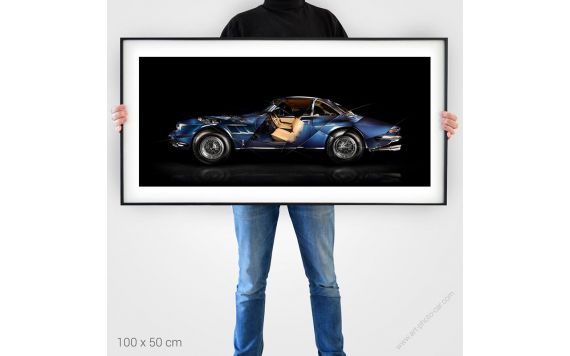 Ferrari 330 GTC Fine Art Print
