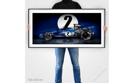 Tyrrell 003 Jackie stewart Tirage d'art