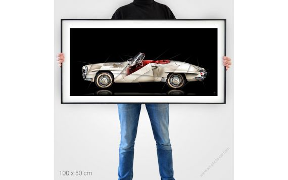 Art Photo Mercedes 190 SL II