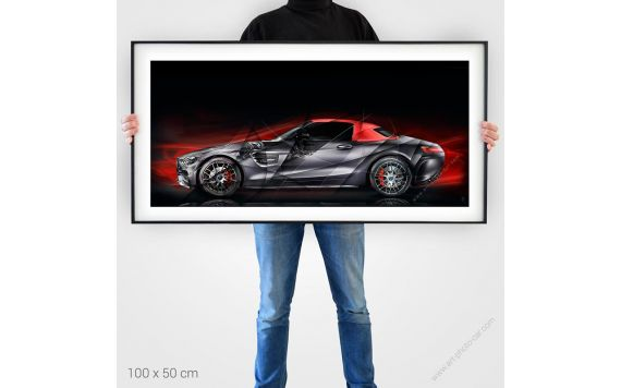 Art Photography Mercedes AMG GT 50 RED Edition II