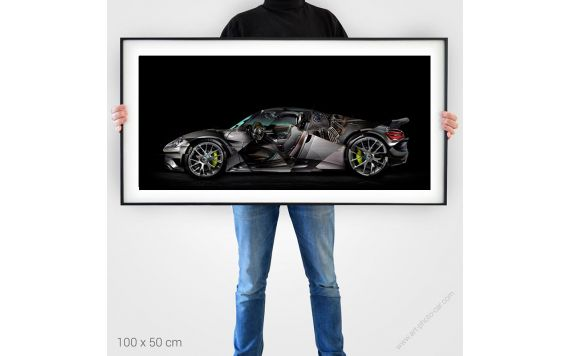 Porsche 918 gte Photo - Signed & Limited Photography