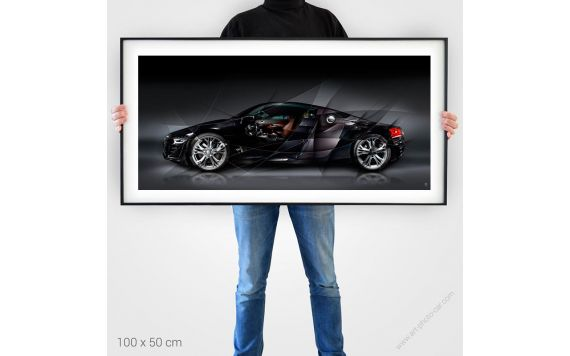 Audi R8 Art Photography signed