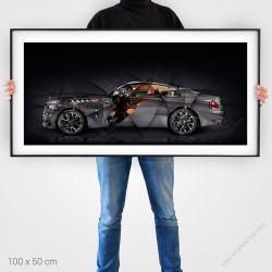 Fine Art Print Rolls Royce Wraith Luminary edition Limited