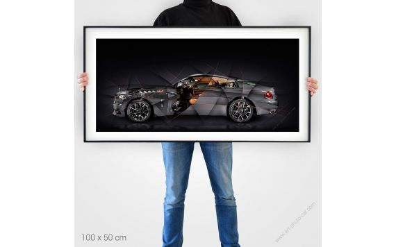 Rolls Royce Wraith Luminary Photographie d'Art