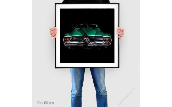 PAINTING ART FORD MUSTANG III