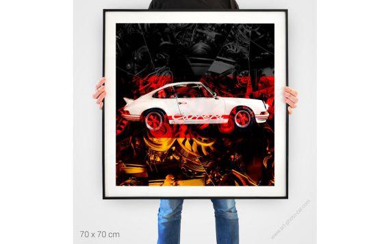 Porsche Carrera RS 911 photography art