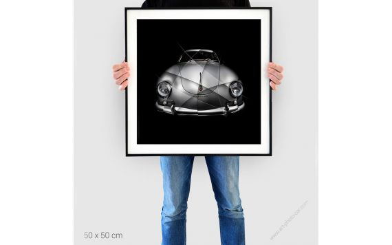 Porsche 356 A Carrera GS 1500 VIII Poster automobile numéroté