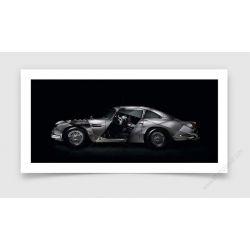 Fine Art Print Aston Martin DB5 II
