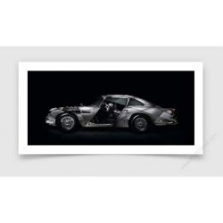 Tirage d'art Aston Martin DB5 II