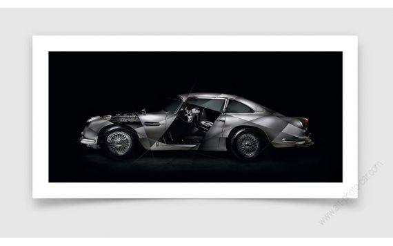 Aston Martin DB5 Photo | Signed & Limited Fine art print