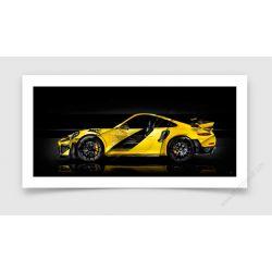 Tirage d'art Porsche 911 GT2 RS type 991