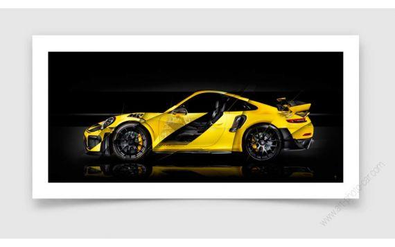 Porsche 911 GT2 RS type 991 Photo d'art