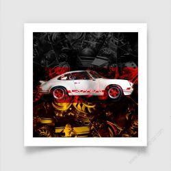 Tirage d'art Porsche Carrera RS 911